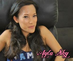 Ayla Sky naked